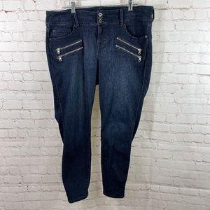 torrid Jeans - Torrid Plus Size Premium Skinny Zipper Jeggings